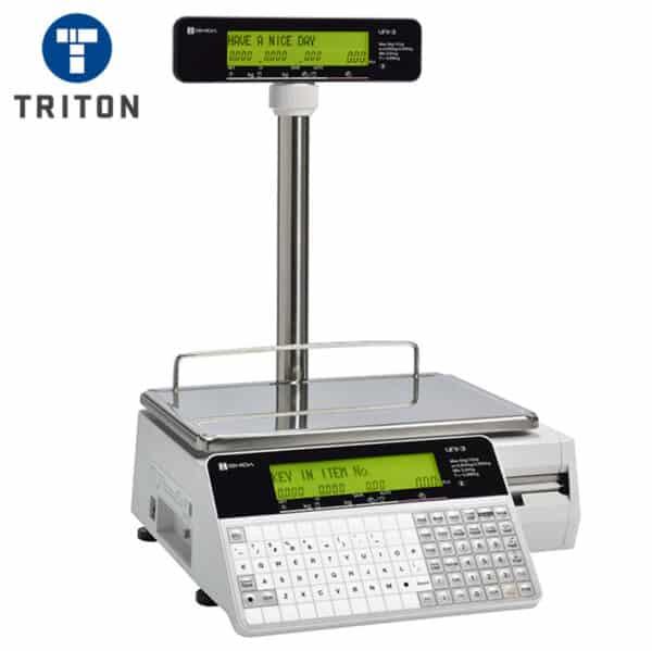 Ishida Uni 3 L2 Scale Label Printer Pole Display Turned