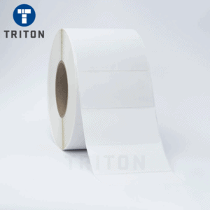 Thermal Label 100x50 White, Varnished