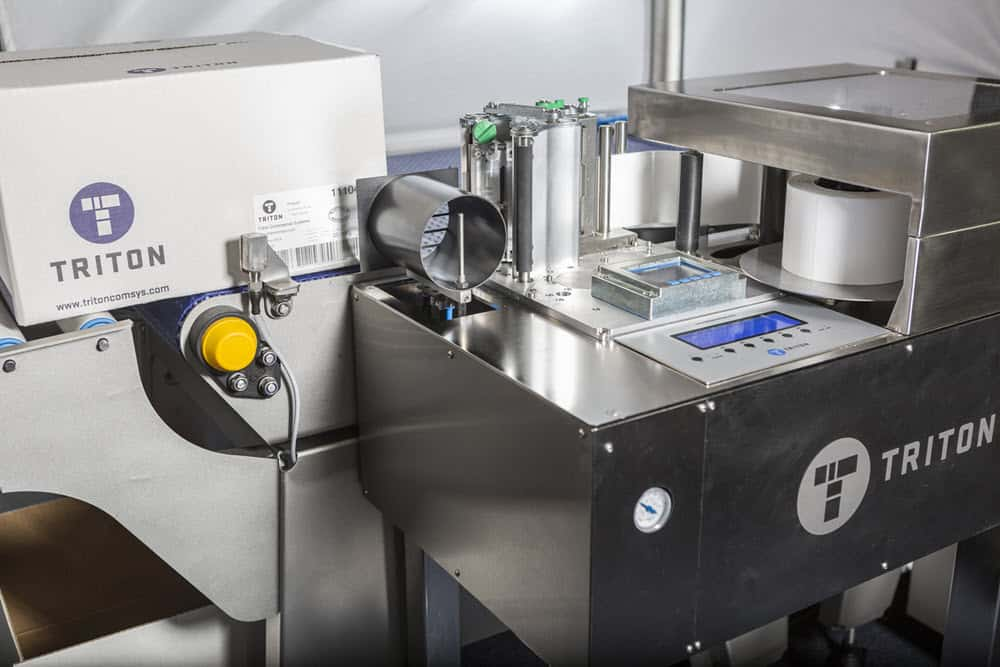 Automated Label Applicator